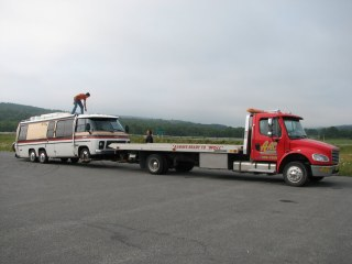Halifax NS, Mile 3289 (does it count on a tow truck…?)