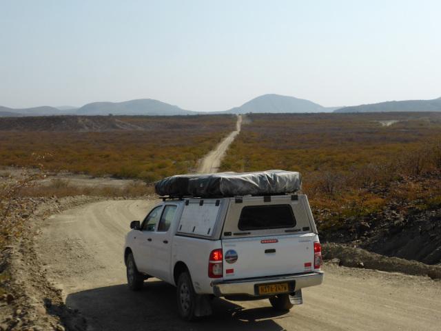 North to Angola