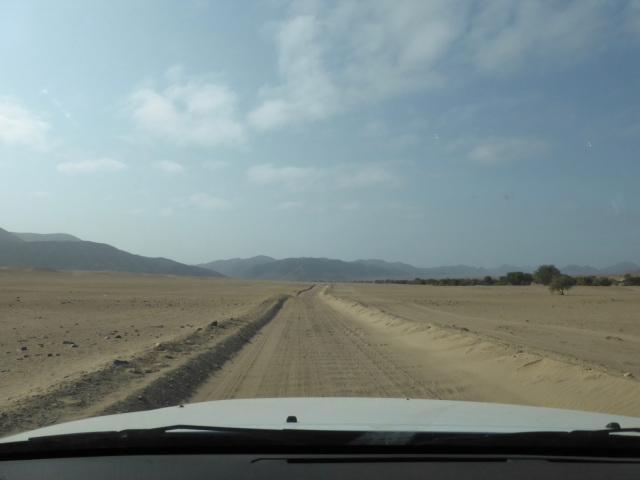 Into Damaraland