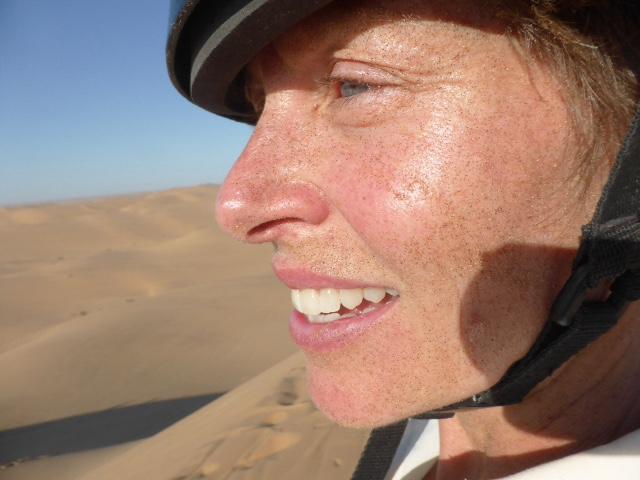 Sand Boarding inSwakopmund