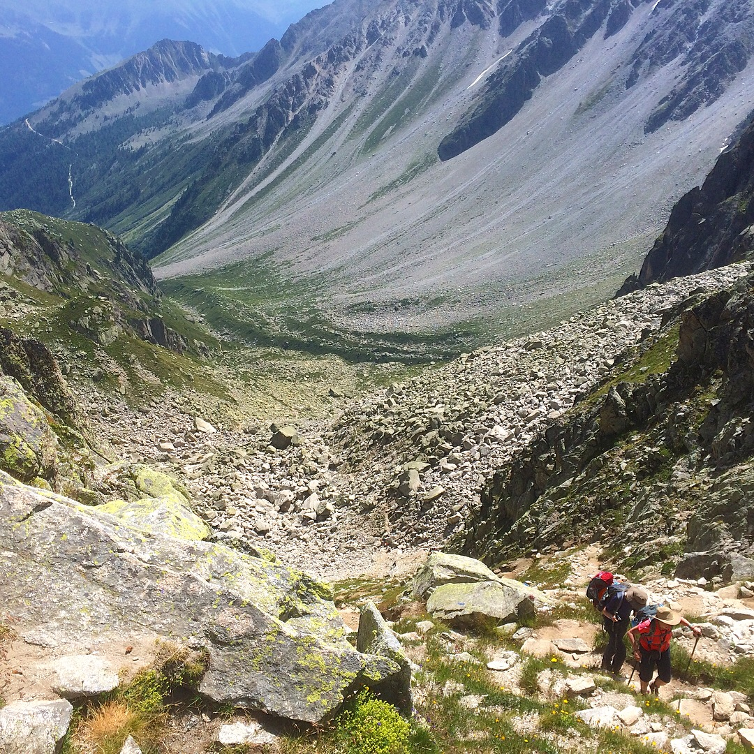Champex to Trient