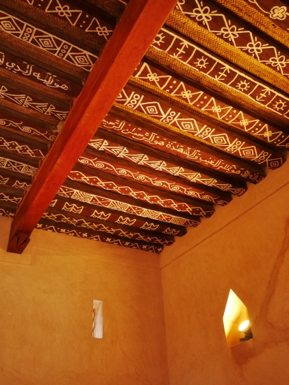 Beautiful painted ceilings